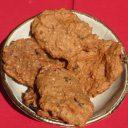 Wegańskie ciasteczka marchewkowe