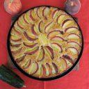 Ciasto ogórkowo-brzoskwiniowe
