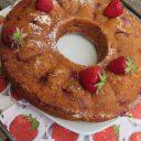 Ciasto z ricottą i truskawkami