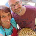 Ciasto z figami i masą migdałową