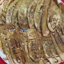 Grillowane białe bakłażany