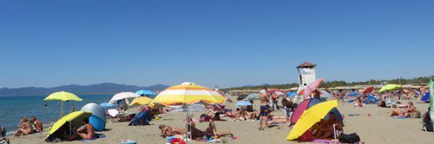 Sierpień, Principina a Mare i nasi na plaży