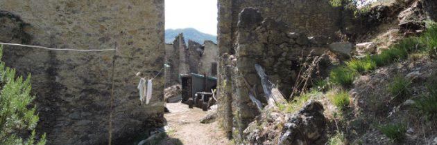 Col di Luco i stroma ścieżka do celu