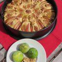 Ciasto jabłkowo-figowe