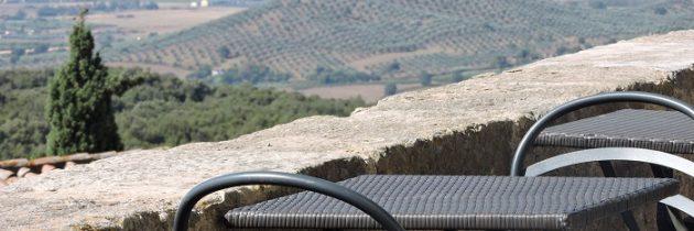 Capalbio i wspaniała panorama