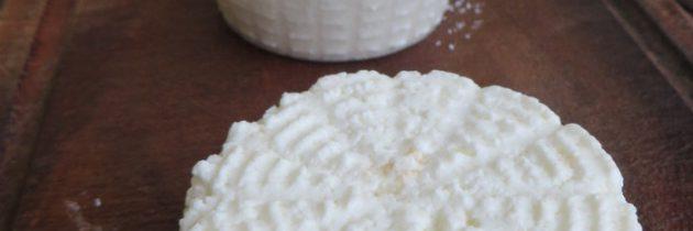 Ricotta z mleka krowiego