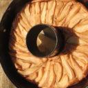 Ciasto ziemniaczane z gruszką