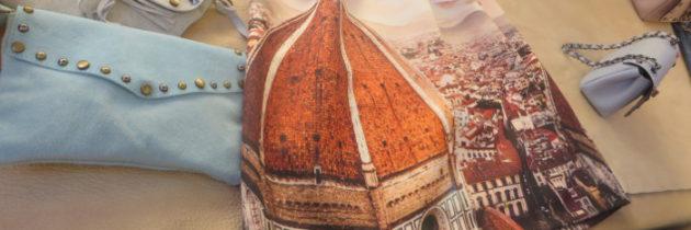 Sukienka z motywami florenckimi