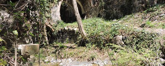 Opuszczone termy San Michele alle Formiche