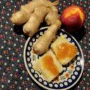 Dżem brzoskwiniowy z imbirem