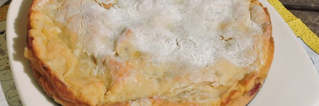 Ciasto ziemniaczano-jabłkowe