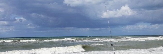 Toskańskie morze w październiku