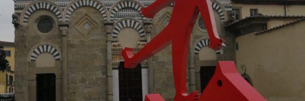 Nowinki na placu Świętego Bartłomieja w Pistoi