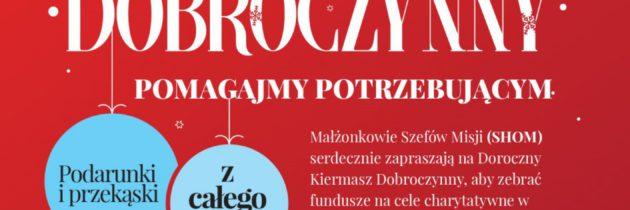 Warszawa, X Międzynarodowy Kiermasz Bożonarodzeniowy i moje uczestnictwo