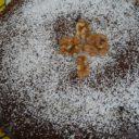 Czekoladowe ciasto z orzechami włoskimi