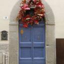 Świąteczne drzwi