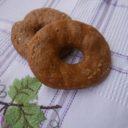 Ciambelle czyli oponki, tym razem z mąki kasztanowej